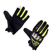 Перчатки AXIO AX-01 сенсорный палец (size: L, зеленые)