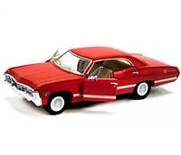 Машинка автомодель Chevrolet Impala Kinsmart KT5418W (Красный)