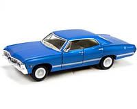 Машинка моделька Chevrolet Impala Автомодель Шевроле Kinsmart KT5418W (Синий)