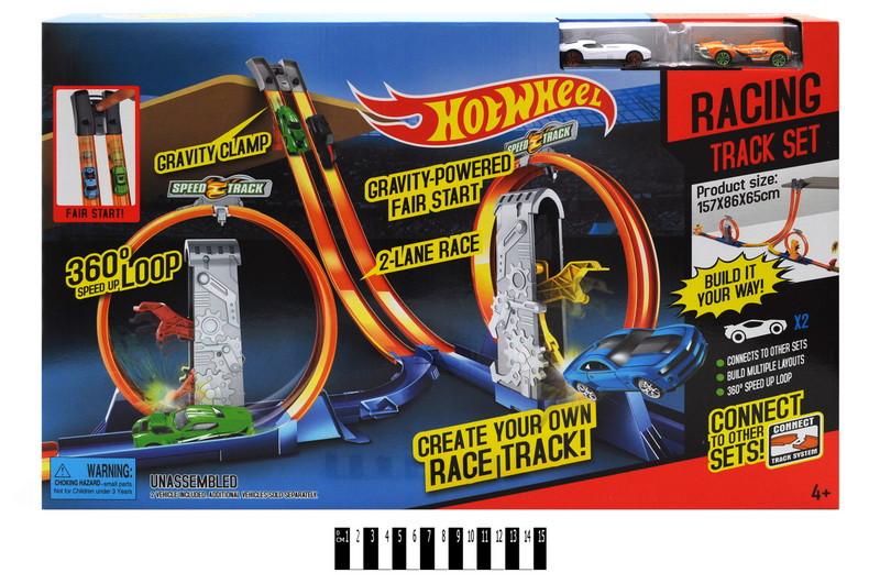 """Трек """"Hot Wheels: Racing Track Set"""" YG Toys (5775)"""