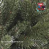 Венок рождественский Премиум зеленый, фото 2