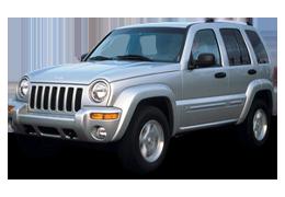 Дефлектор на капот (Мухобойки) для Jeep (Джип) Liberty 2001-2007