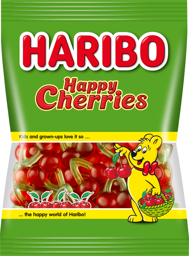 Haribo Happy Cherry Желейные конфеты со вкусом вишни