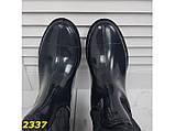 Сапоги резиновые утепленные на флисе непромокаемые К2337, фото 9