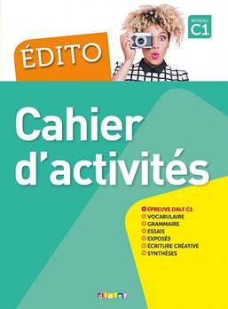 Edito C1 Cahier d'activités avec CD MP3