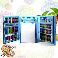 Набор для детского творчества в чемодане из 208 предметов Чемодан творчества , Подарок ребенку!