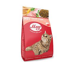 Корм Мяу повнорацiонний ніжний кролик для дорослих котів 300 г