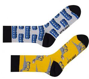 Носки Sammy Icon Metro 40-46 Black/Blue/Yellow, фото 2
