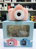 ОРИГИНАЛ! Качественный Детский фотоаппарат GM14 Розовый