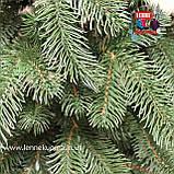Венок рождественский Элит зеленый, фото 2
