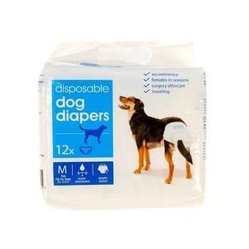 Подгузники для собак Edeka M 33-51 см