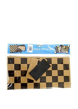 Шашки/шахматы из картона Edeka