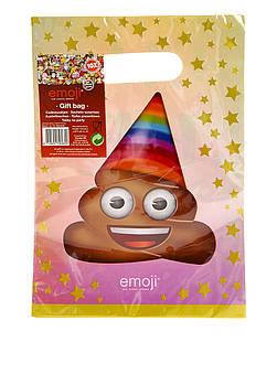 Подарочные пакеты emoji 10 шт.