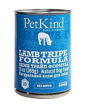 Консервы с ягненком, индейкой и рубцом PetKind для собак всех возрастов 369 г