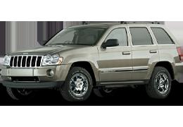 Дефлектор на капот (Мухобойки) для Jeep (Джип) Cherokee III (WK) 2005-2010