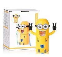 Дозатор зубной пасты детский Миньон с держателем для зубных щеток