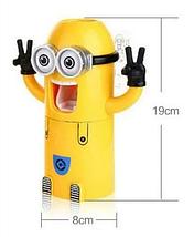 Дозатор зубной пасты детский Миньон с держателем для зубных щеток, фото 3