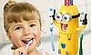 Дозатор зубной пасты детский Миньон с держателем для зубных щеток, фото 2