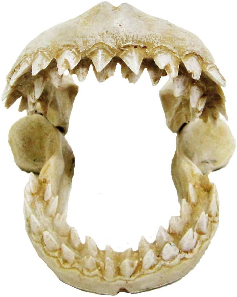 Декор в аквариум Croci. Челюсти маленькие 10,5*10*9,8 см (керамика)