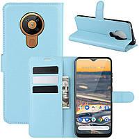 Чехол-книжка Litchie Wallet для Nokia 5.3 Blue