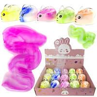 Игрушка слайм для детей Кролик 12 шт