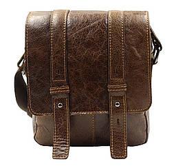 Мужская кожаная сумка BR1540 коричневая