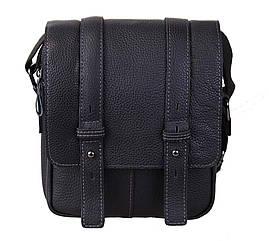 Мужская кожаная сумка PRE1540 черная