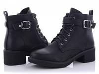 Женские Стильные Осенние Ботинки CAILASTE Black, Размер 36