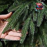 Венок рождественский Сказка зеленый, фото 2