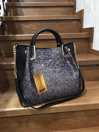 Жіноча модна сумка з фірмовим логотипом, фото 2