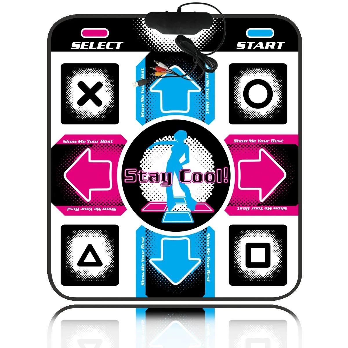 Танцювальний килимок для дітей Stepmania Coilmix, килимок для танців, до телевізора, комп'ютера (ТВ і ПК)