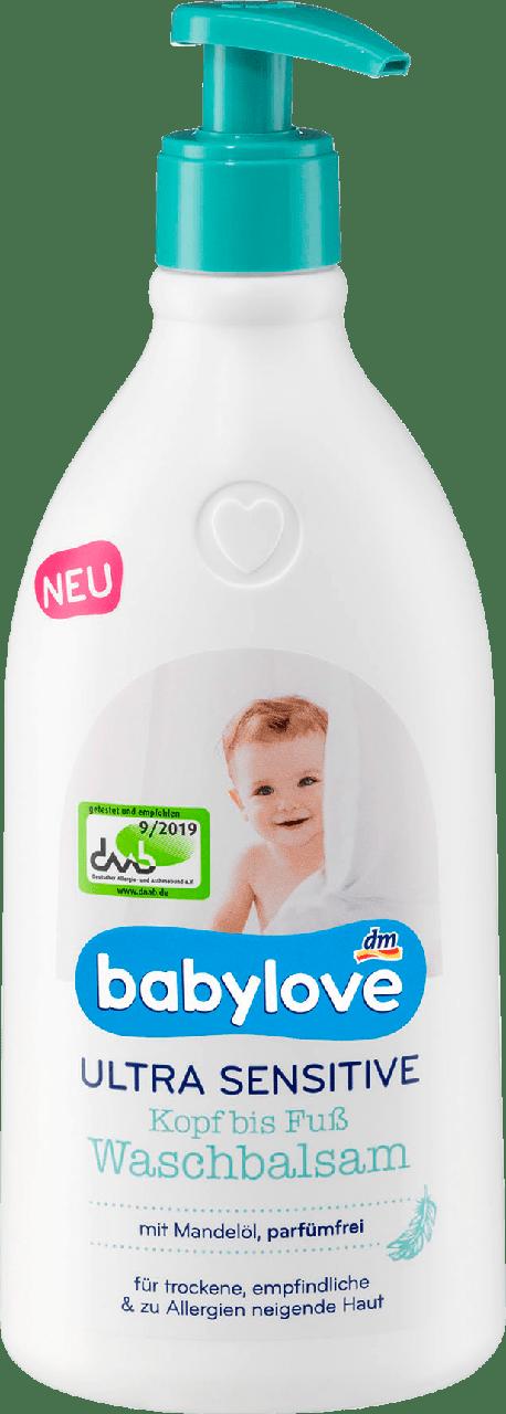 Детский бальзам для умывания Babylove Waschbalsam Ultra Sensitive, 0,5 L.