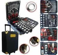 Набор инструментов Gold Diamond CT187012B 399 предметов | Набор, комплект | Инструменты хром-сталь
