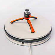 Ø35см/max 30кг Автоматический поворотный стол для предметной съемки 3d фото видеосъемки на 360 FTR-SNA350-1197, фото 5