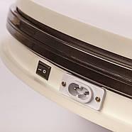 Ø35см/max 30кг Автоматический поворотный стол для предметной съемки 3d фото видеосъемки на 360 FTR-SNA350-1197, фото 7