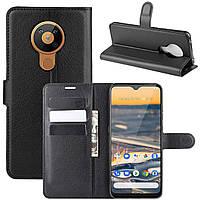 Чехол-книжка Litchie Wallet для Nokia 5.3 Black