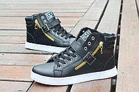 Модные мужские высокие кроссовки. Модель 04228-н, фото 4
