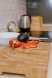 Доска разделочная  щитовая и для подачи блюд , ручка снизу  40х300х450  фабрики Casa Verdi, фото 4