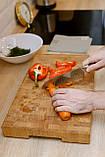 Доска разделочная  щитовая и для подачи блюд , ручка снизу  40х300х450  фабрики Casa Verdi, фото 5