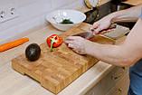 Доска разделочная  щитовая и для подачи блюд , ручка снизу  40х300х450  фабрики Casa Verdi, фото 6