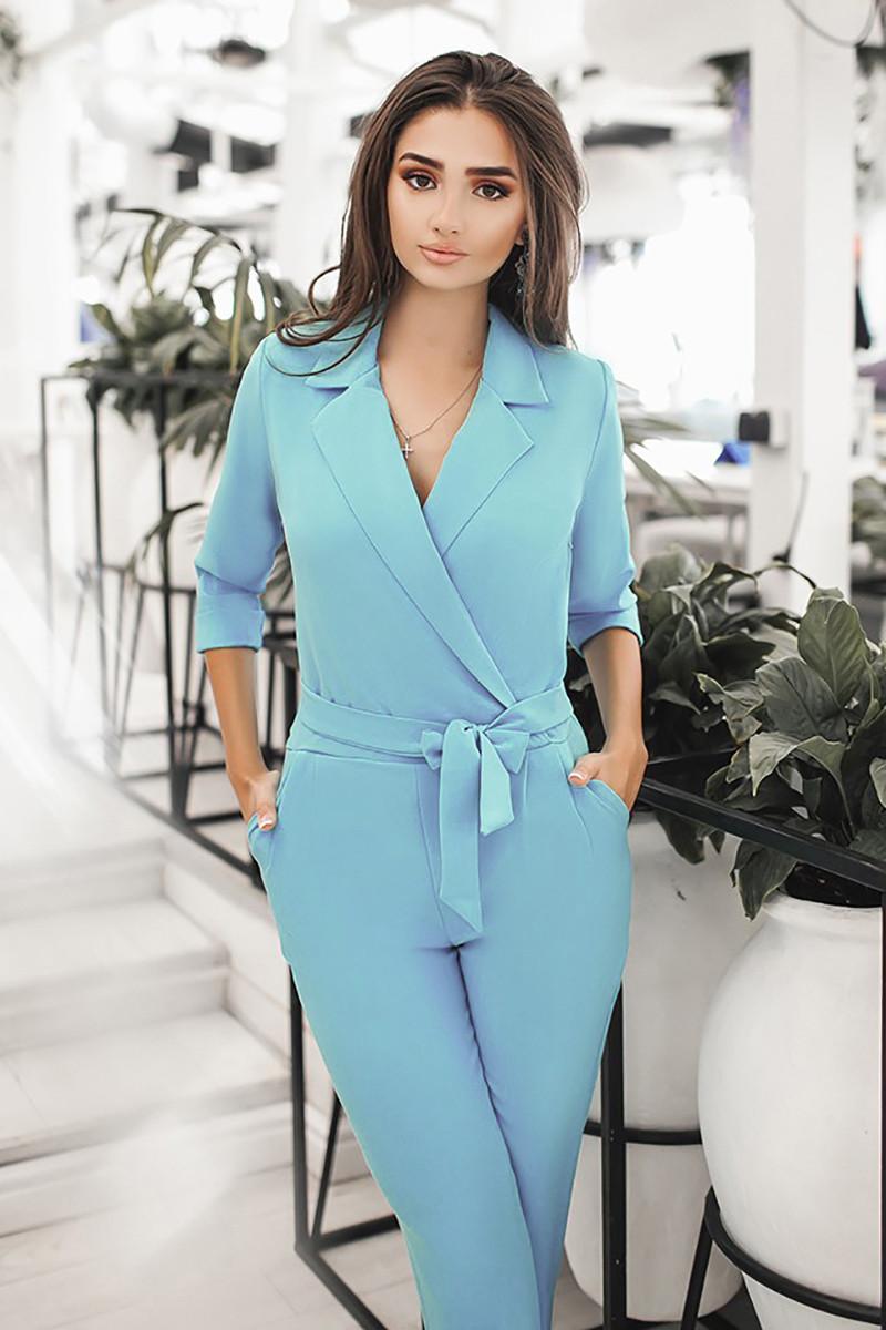S, M, L | Жіночий комбінезон Darline, блакитний