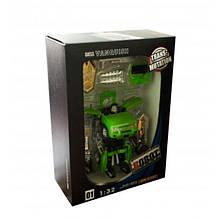"Трансформер-машина ""Hurricane Flying"" (зелений) з аксесуарами 1101C"