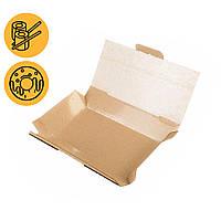 Коробки под суши и роллы крафт 165*110*50 мм прямоугольные заготовки