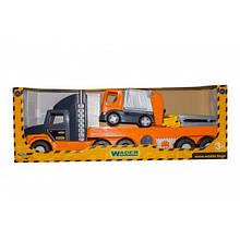 """""""Super Tech Truck"""" с мусоровозом 36730"""