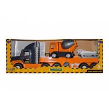 """""""Super Tech Truck"""" с бетономешалкой 36750"""