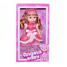 """Кукла """"Angela Baby"""" (в малиновом) 1402C"""