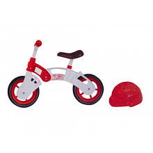 """Беговел """"Star Bike"""" с шлемом Бело-красный"""
