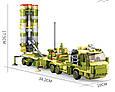 """Конструктор Sluban M38-B0758 """"Зенітний ракетний комплекс С-400 6в1"""" 713 дет, фото 6"""