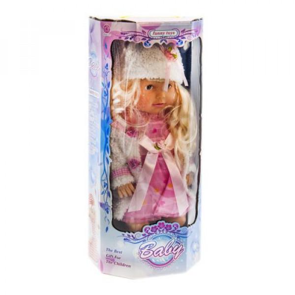 "Кукла ""Baby Funny toys"" (в розовом платье) Л-00014"