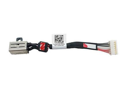 Оригинальный разъем гнездо кабель питания DELL XPS15 9550 9560 9570 - DC30100X300, 064TM0, AAM00, фото 2